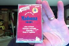Sing the Hits of Madonna Vol. 3- Singing Machine karaoke- new/sealed cassette