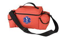 Orange EMS Rescue Bag EMT/EMS Rescue Response Bag With Star Of Life Emblem
