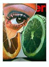 Fritz Köthe - Merito 72 - 1972, Pop Art Grafik - original 70er Jahre