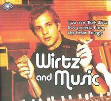 MARK WIRTZ and Music 2 CD 1966 JIM SULLIVAN notes by Bob Stanley (Saint Etienne)