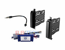 Radio Replacement Interface & Dash Mounting Install Kit w/Antenna for Jeep/Dodge