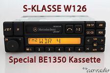 Original Mercedes Special BE1350 Becker Radio W126 S-Klasse Kassette Autoradio