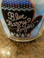 bath and body works blueberry sugar 3 wick candle