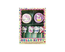 Meri Meri - Cupcake Cases and Assorted Toppers (Set of 24) - Hello Kitty