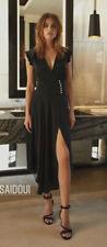 ba&sh superbe robe taille 0 / 34 bleu foncé