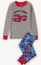 Hatley Niños Pijamas Apliques fuego camiones 🚒 Niños Niñas Talla 3 años Navidad Navidad
