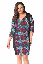 Women's Stretch, Bodycon Polyester Geometric Casual Dresses