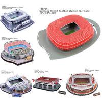 Nanostad 3D Model Football Soccer Stadium Jigsaw Puzzle Kids Toy Gift Home A8A