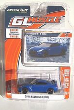 GREENLIGHT GL MUSCLE SERIES 17 2014 NISSAN GT-R (35) Blue