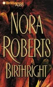 Birthright by Nora Roberts: Unabridged AUDIO BOOK on Cassettes. SEALED