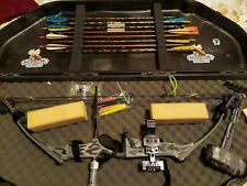 Hoyt Pro Force Compound Bow Left-Handed 60-70# with Case and Accessories