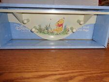 Disney Baby - Winnie The Pooh - Nursery - Wall Shelf With Pegs - New