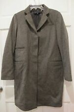 Marc by Marc Jacobs Coat Checked Menswear Style Classic Wool Tailored Sz S