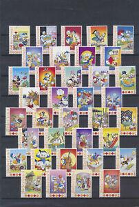 XC52453 Netherlands Donald Duck disney fine lot MNH