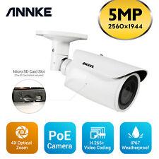 ANNKE 1pcs 4X Optical Zoom 5MP PTZ CCTV IP Network Camera Home Surveillance Kit