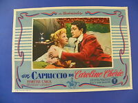 R Fotobusta Original ein Capriccio von Caroline Cherie Martine Carol 2