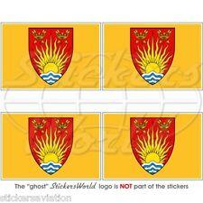 "SUFFOLK Contea Bandiera, Ipswich UK Inglese Adesivi in Vinile 5cm/2"" Stickers"