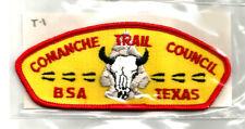 COMANCHE TRAIL T-1 CSP MINT Vintage Texas Boy Scout Mgd Council-pb