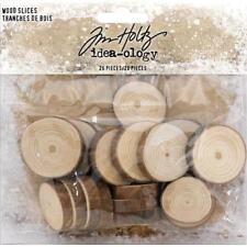 Tim Holtz Idea-Ology bois Tranches 20pcs-Natural Raw Edge TH93745