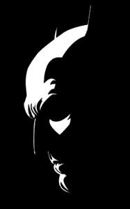 Batman Face Batfleck DC Decal Sticker PS5 XBOX Yeti  Laptop Cup Mug Wall Window