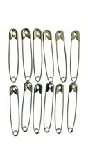 50pc 65mm Safety Pins Ideal Running Cycling & other Sports Events Nappy Pins