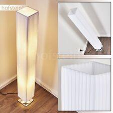 Lampadaire Lampe de bureau Lampe de séjour Lampe de corridor Tissu blanc 185481