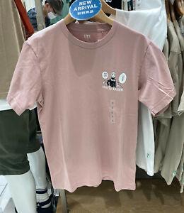 NWT UNIQLO UT Jujutsu Kaisen Nobara Kugisaki MEN Pink Short Sleeve T-shirt TEE