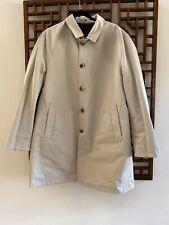 NWOT $1,700 ISAIA Reversible RainJacket  Size 56 (46), Navy/Khaki