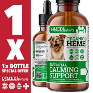 MediPaws® Hemp Oil For Dogs | Omega 3 6 9 | High Strength 50,000mg | 50ml