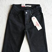 NEW Levi's 714 Teens Girls Womens Jeans Straight Leg Regular fit Size W23 x L32