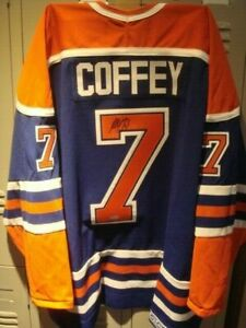 2020 Upper Deck Threads Paul Coffey UDA Auto Canada Edmonton Oilers Jersey NHL