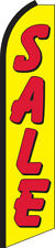Sale Yellow/Red Swooper Flag Feather Super Bow Banner