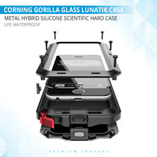 CORNING GORILLA GLASS LUNATIK TAKTIK IMPACT LENS HEAVY DUTY CASE FOR IPHONE MOD.
