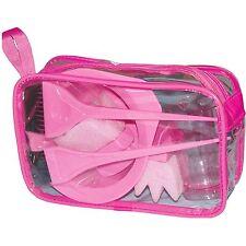 Pro DMI Peluquería Set/Kit De Teñido Tinte Rosa Cepillo Tazón Esponja peróxido de medición