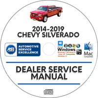 Chevrolet Silverado 2014-2019 Service Repair Manual Workshop chevy