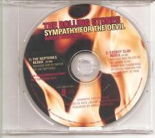 "Rolling stones ""sympathy for the Devil radio remixé"" 2 track us promo CD rar"