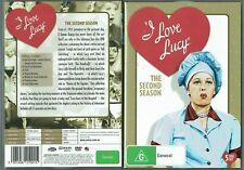 I Love Lucy Season 2 (DVD, 2016, 5 Disc Set) - Region 4