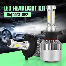 2X Philips H4 200W 23800LM HI-LO Beam COB LED Headlight Bulbs HB2 9003 6500K KIT