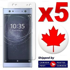 5x Sony Xperia XA2 XA1 Ultra XA X Performance Tempered Glass Screen Protector