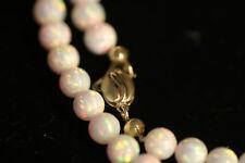 Opalkette Kukeln, massiver Opal, Rosa, absolute Topware als Hingucker