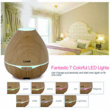 300ml Rgb Aroma Essential Oil Diffuser Ultrasonic Air Humidifier Remote ContrBe