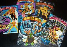 New listing Lot/5: Nm- 9.2: Lobo! Omega Men #5-2nd, #9, #10-Story,#19-Cameo, #20 New Stock!