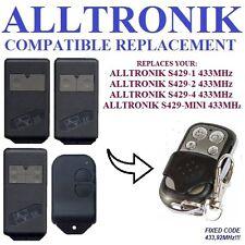 ALLTRONIK S429-1, S429-2, S429-4, S429-Mini Universal remote control transmitter
