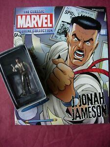 J. Jonah Jameson #179 Classic Marvel Figurine Collection Fig/Mag Eaglemoss VFN