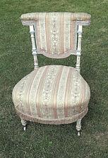 Chaise ponteuse Edouard Théodore PECQUEREAU (1836-?)