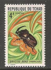 Chad #255 (A66)  VF MINT NH - 1972 4fr Beetle (Oryctes Boas)
