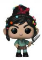 Exclusive VANELLOPE with Sword Funko Pop Vinyl New in Box