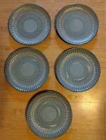"""Set of 5 MIKASA GOURMET BASICS BROADWAY SALAD PLATE 8 1/2"""""""