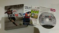 PS3 FIFA 14 Limited Edition Steelbook Version (Boxed & manual) PlayStation 3