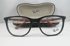 Ray-Ban RB 7078 5598 Grey/Gunmetal New Authentic Eyeglasses 53mm w/Case